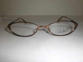 Cole Haan Designer Eyeglasses Frames w/Demo Lens CH 946 Brown Size: 51-1... - $20.99