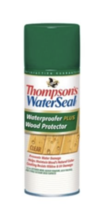 Thompson's WaterSeal Waterproofer Plus Wood Protector Spray, Clear, 11 Oz. - $18.95