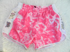 Nwt Victoria's Secret Pink Campus Running Shorts Pink Sequins Bling! Sz Xs - $26.03