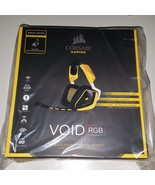 CORSAIR VOID SE Wireless Gaming Headset Yellowjacket RGB Lighting BB EXC... - $128.65