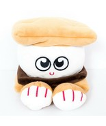 "Gund Smores Plush 5"" Marshmallow Graham Crackers Eyes Stuffed Animal Toy - $17.68"