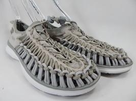 Keen Uneek O2 Sport Sandals Men's Size 9 M (D) EU 42 Vapor / White