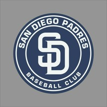 San Diego Padres MLB Team Pro Sports Vinyl Sticker Decal Car Window Wall - $4.46+