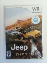 Jeep Thrills Nintendo Wii Game Complete Tested  - $6.83