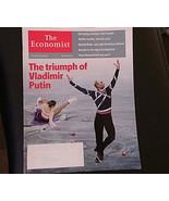 The Economist Magazine Vladimir Putin; Ice Skating Cover; Sochi Olympics... - $13.99