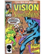 Vision and the Scarlet Witch #2 ORIGINAL Vintage 1985 Marvel Comics Wand... - $23.19
