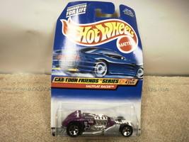 L37 Mattel Hot Wheels 21333 Saltflat Racer CAR-TOON Friends Series New On Card - $4.16