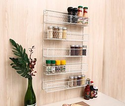 IZLIF Spice Rack Organizer 5 Tier Country Rustic Chicken Herb Holder | W... - £24.51 GBP