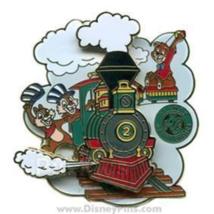 Chip Dale Railroadtrain Rara Disney Prototipo Preproduction Le 3 Pin 61529 Pp - $296.93