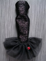BARBIE #982 Solo in Spotlight Outfit Dress Black Gown Vintage Reproducti... - $7.99