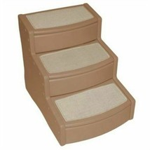 PET GEAR EASY STEP EXTRA WIDE CAT DOG STAIRS PORTABLE FOR COUCH OR BED - $69.30