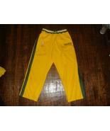 Vintage NIKE Seattle Supersonics Throwback NBA Warm Up Pants Men's XL - $59.39