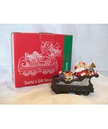 1998 Home Towne Express-Santa's Gift Sleigh-JC Penney Christmas Train Co... - $4.50