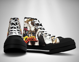Cheers  80's Tv Show Canvas Sneakers Shoes - $29.99