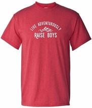 @ Live Adventurously, Raise Boys Boy Mom / Dad Super Soft T-Shirt - £5.72 GBP+
