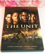 DVD's The Unit Season One (1) Full Season 13 Episodes on 4 Disc Set Gent... - $19.99