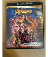 Avengers Infinity War (4K Ultra HD+Blu-ray/Digital HD)Brand-NEW- Marvel ... - $16.99
