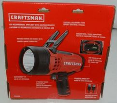 Craftsman CMXLSB10 LED Rechargable Spotlight with USB Power Supply Package 1 image 4