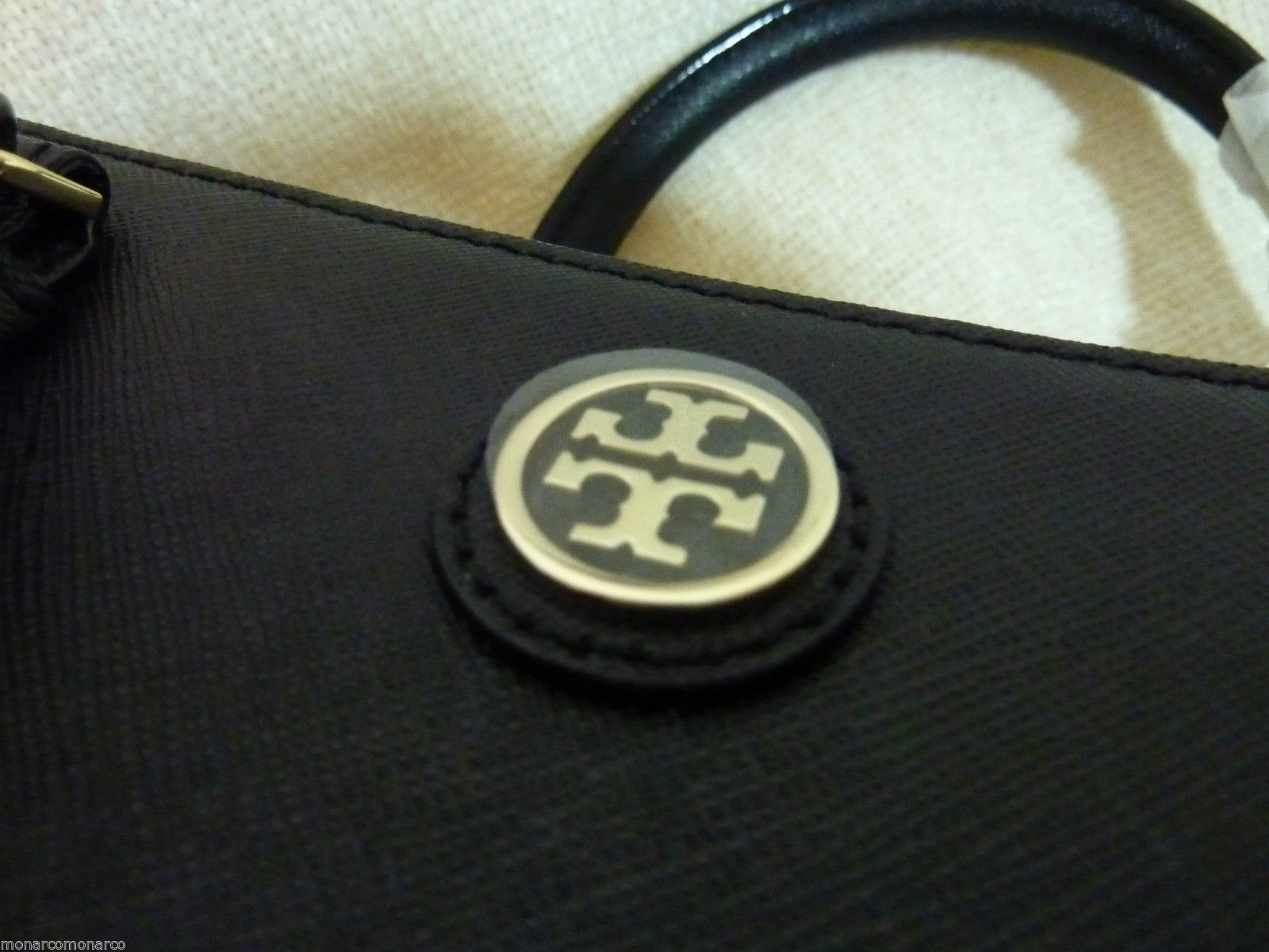 NWT Tory Burch Black Saffiano Leather Large Robinson Multi Tote - $595 image 12