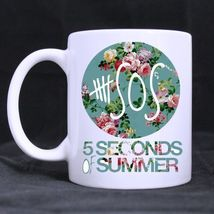 Custom Funny 5 Seconds Of Summer 11 Oz Coffee Mug Tea Cup Gift - $13.99
