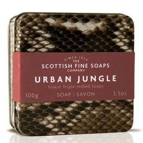 Scottish Fine Soaps Urban Jungle Tin - Snake Design 100g 3.5oz