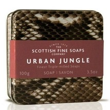 Scottish Fine Soaps Urban Jungle Tin - Snake Design 100g 3.5oz - $12.00