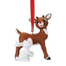Department 56 Rudolph The Red Nose Reindeer Christmas with a Bunny  Orna... - $19.99