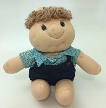 "1982 Dan Dee Piggy Wigglies Pig Doll Toy Overalls Shirt Plush Rare 15"" - $35.63"