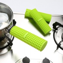 Silicone Pan Handle Cover Pot Grip Sleeve Holder Insulation Cookware Kit... - $16.17+