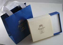 Yellow Gold Earrings 750 18K Hanging 6 cm, Prasiolite Cut Cushion & Pearl image 3