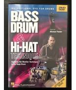 MICHAEL PACKER - Michael Packer: Bass Drum & Hi-hat Technique - DVD - Mu... - $19.26