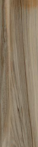 6x24 Marina Walnut Porcelain Plank Wood Look Field Tile Floor Sold by Piece