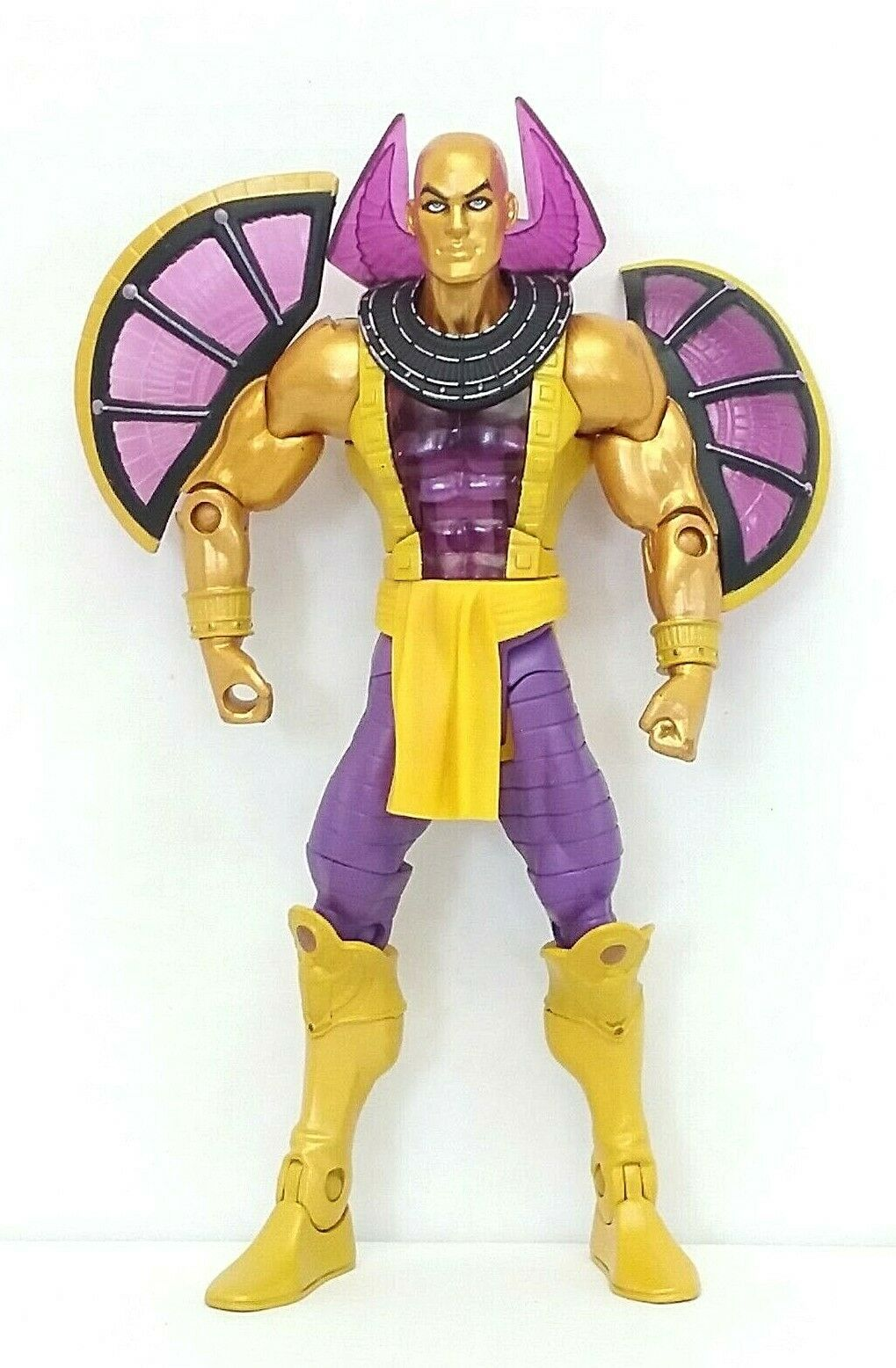 "Primary image for DC Universe Golden Paharaoh 6.5"" Action Figure 2009 Mattel Used Read Description"