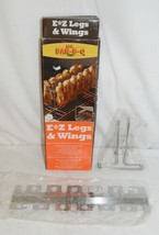 Mr BARBQ 06120X EZ Legs And Wings Vertical Cooking Unit For Grill image 1