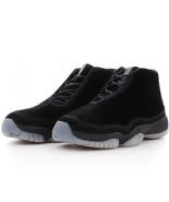 Women's Air Jordan Future Black-Night Maroon Size 7.5 Sneakers AR0726-006 - $153.45