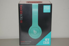 Beats Dr Dre Solo HD Headband Headphones Drenched In Matte Teal Green Br... - $149.99
