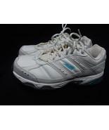 Avia Size 8 W US 39 W EU White Leather Lace Up Athletic Walking Shoes Av... - $14.01