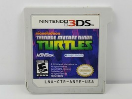 Teenage Mutant Ninja Turtles (Nintendo 3DS, 2013) Cartridge Game Only Te... - $7.78