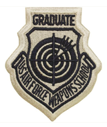 Vanguard AIR FORCE PATCH: USAF WEAPONS SCHOOL GRADUATE - EXCELLENT - $5.00