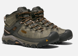 Keen Targhee III Mid Top Size 13 M (D) EU 47 Men's WP Hiking Boots Olive 1017787
