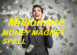Millionaire Money Wealth Spell Extreme Power to Become Rich Cast Same Da... - $35.00
