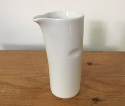 Vintage Lagardo Tackett Schmid Porcelain Japan White Ceramic Coffee Creamer - $47.99