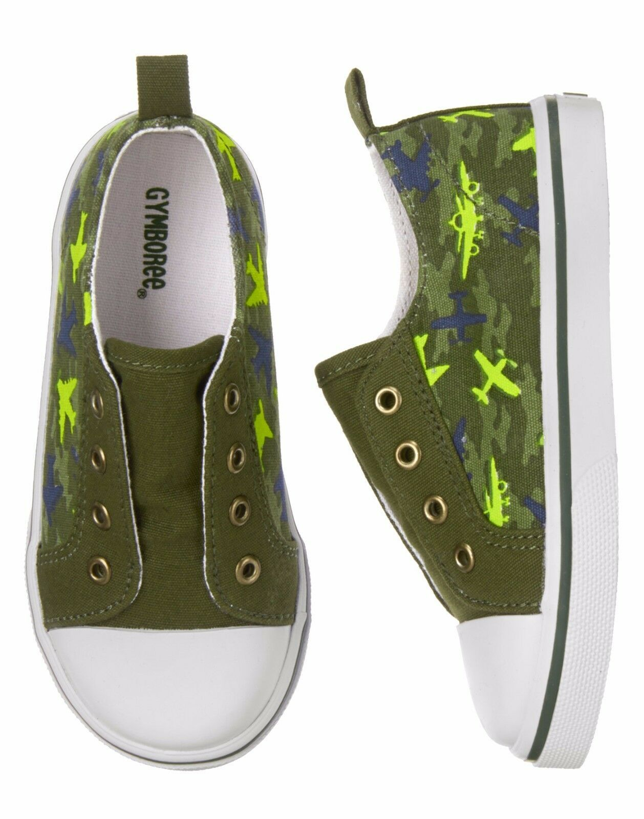 Primary image for Gymboree Plane Camo Sneakers 6 7