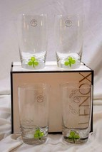 Lenox 2018 Shamrock Set Of 4 Hiball Glasses NIB - $80.99