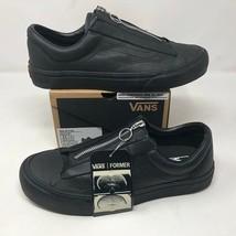 NIB Former x Vans SS19 Capsule Collab Black Leather Ft Zip Shoes Sz 10 S... - $189.33