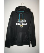 NFL TEAM APPAREL JAGUAR JACKSONVILLE Men's TX3 Warm Pullover Hoodie Blac... - $23.75