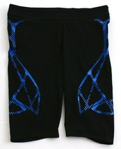 Adidas Black & Blue Adizero Sprintweb Short Tights Men's NWT - $56.99
