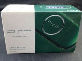 Playstation Portable Spirited Green PSP 3000SG Sony Limited Console New - $332.09