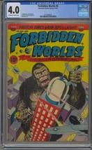 FORBIDDEN WORLDS #6 CGC 4.0 PRE CODE HORROR ACG - $96.74