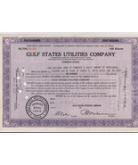 Stock Certificate Gulf States Utilities 1947 Vintage Beautiful Condition... - $3.81
